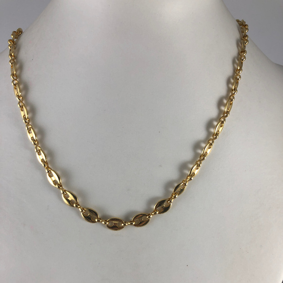 Avon Jewelry - Vintage Avon 5MM 18In  Gold Tone Marines Necklace